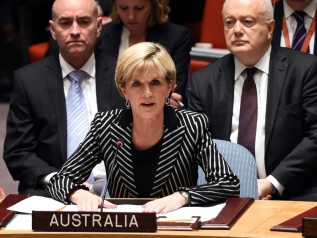Foreign Minister Julie Bishop addresses the Security Council_2