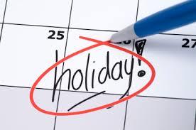 Calander Holiday