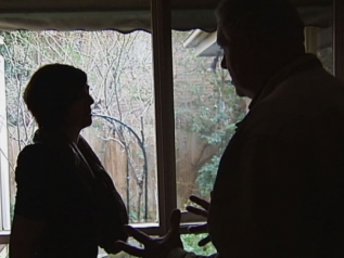 Domestic Violence Unidentifiable man and woman arguing