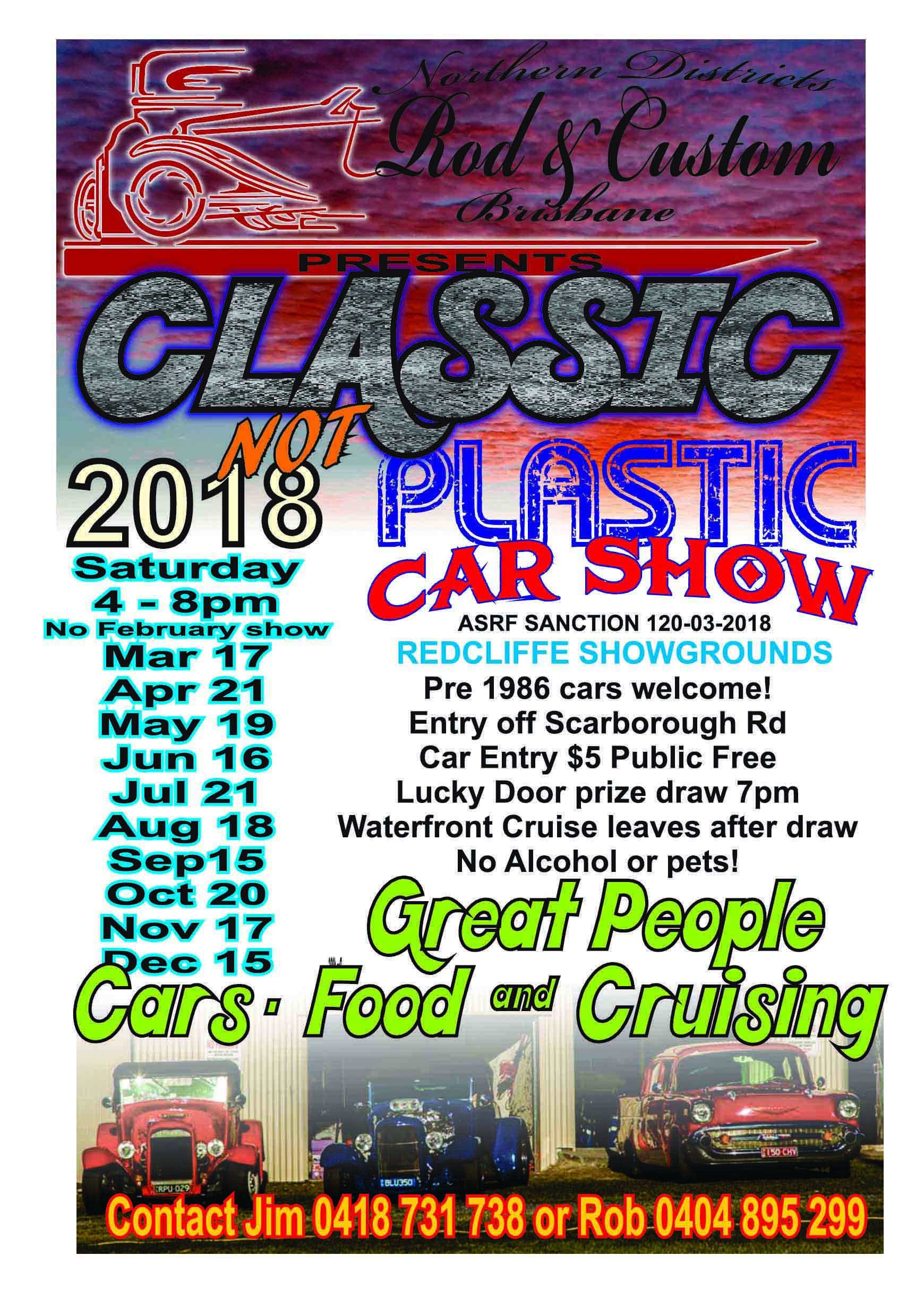 Classic Not Plastic Car Show 2018 small