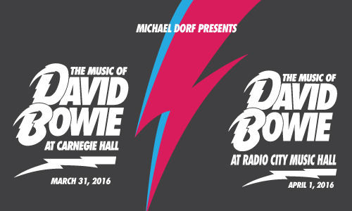 David Bowie tribute shows NYC 2016