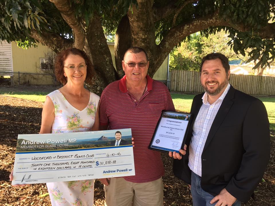 Grants gambling community benefit fund
