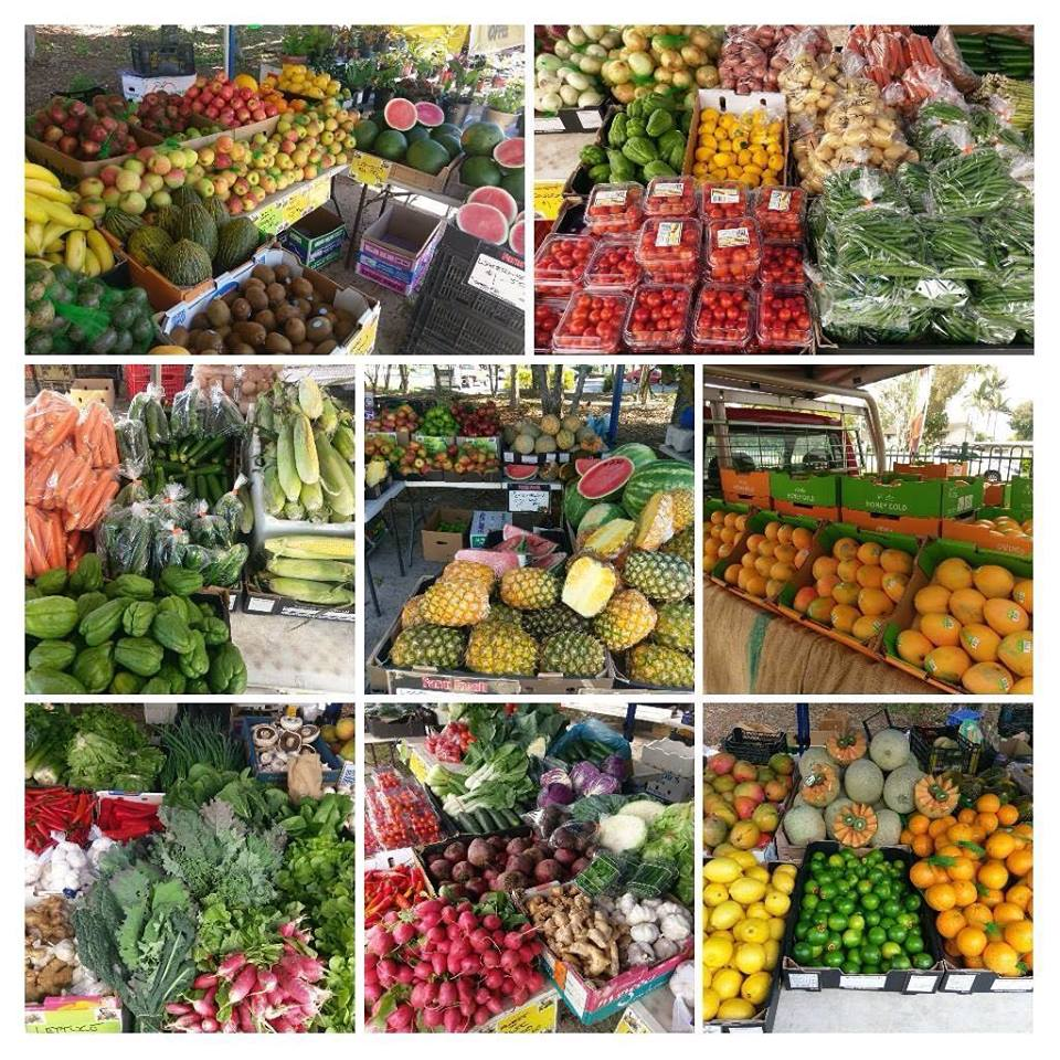 Burpengary Markets Lots of Fruit and Vegetables