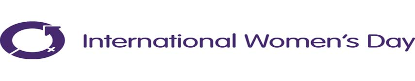 International Women's Day 855x168