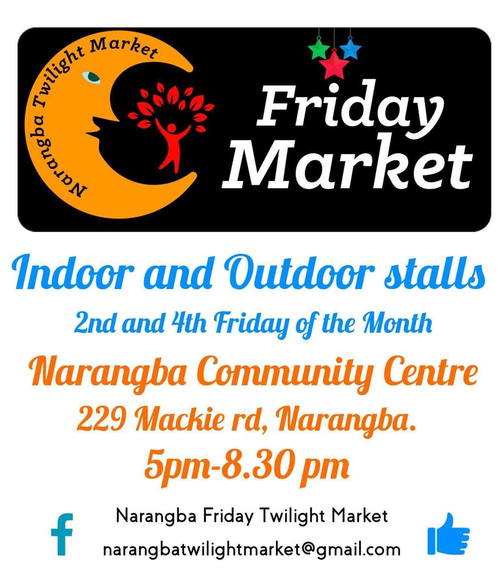 Narangba Markets 2nd and 4th Fridays 1000x1110
