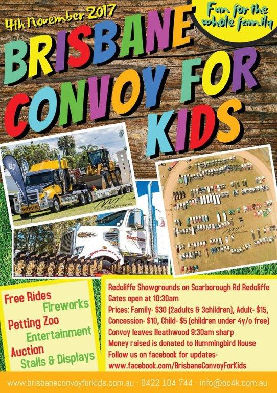 Convoy For Kids 2017 Poster