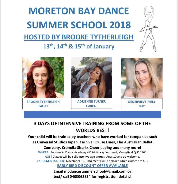 Moreton Bay Summer Dance School