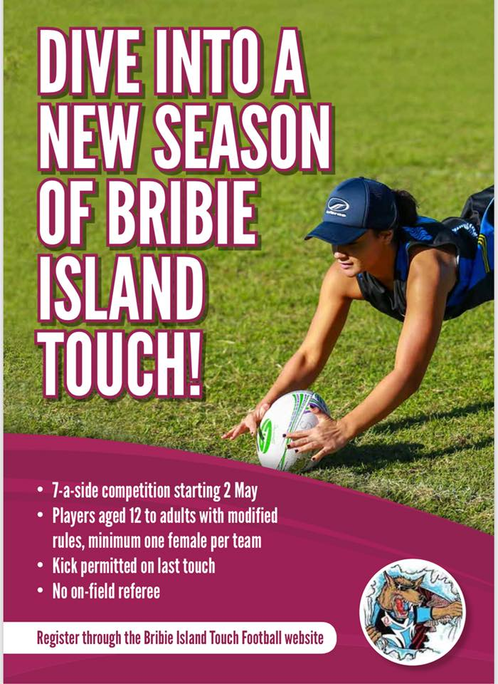 Bribie Island Touch New Season 2018