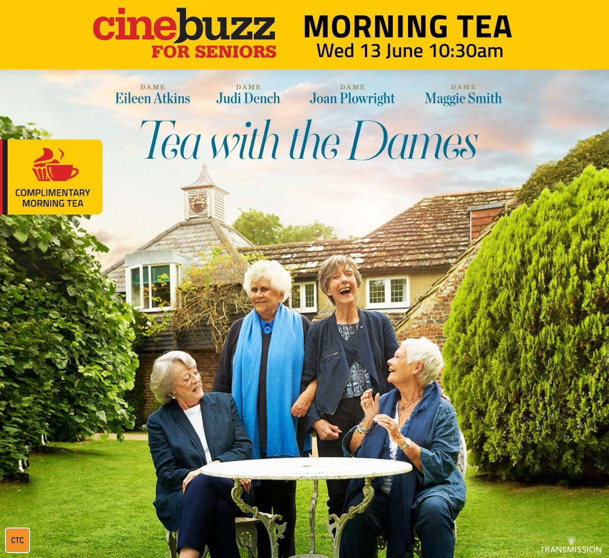 Andre & Tea with the Dames Image-2