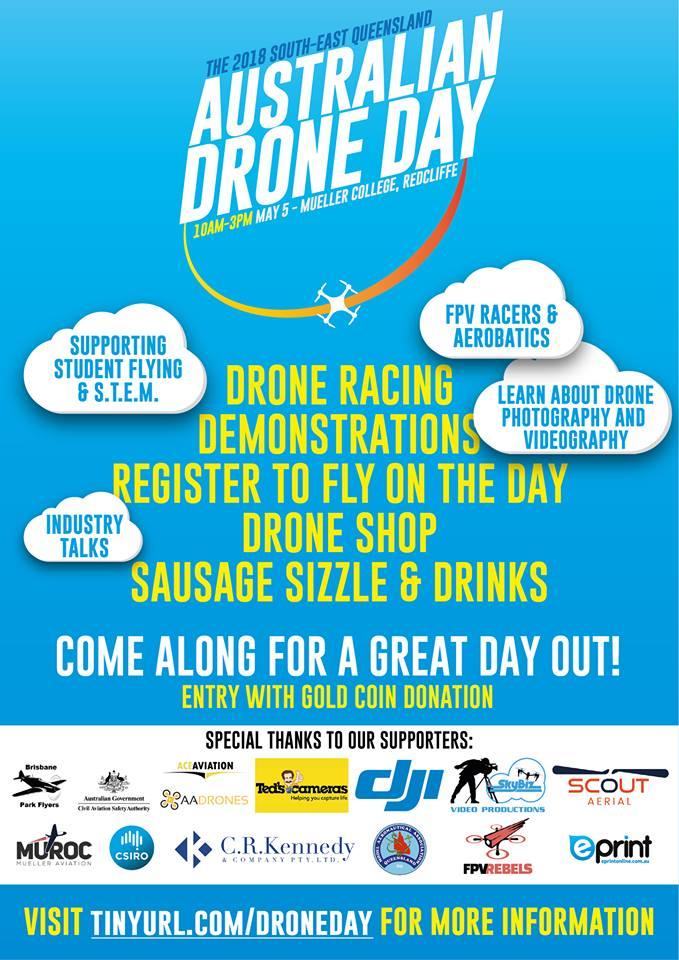 Australian drone Day Flyer 2018