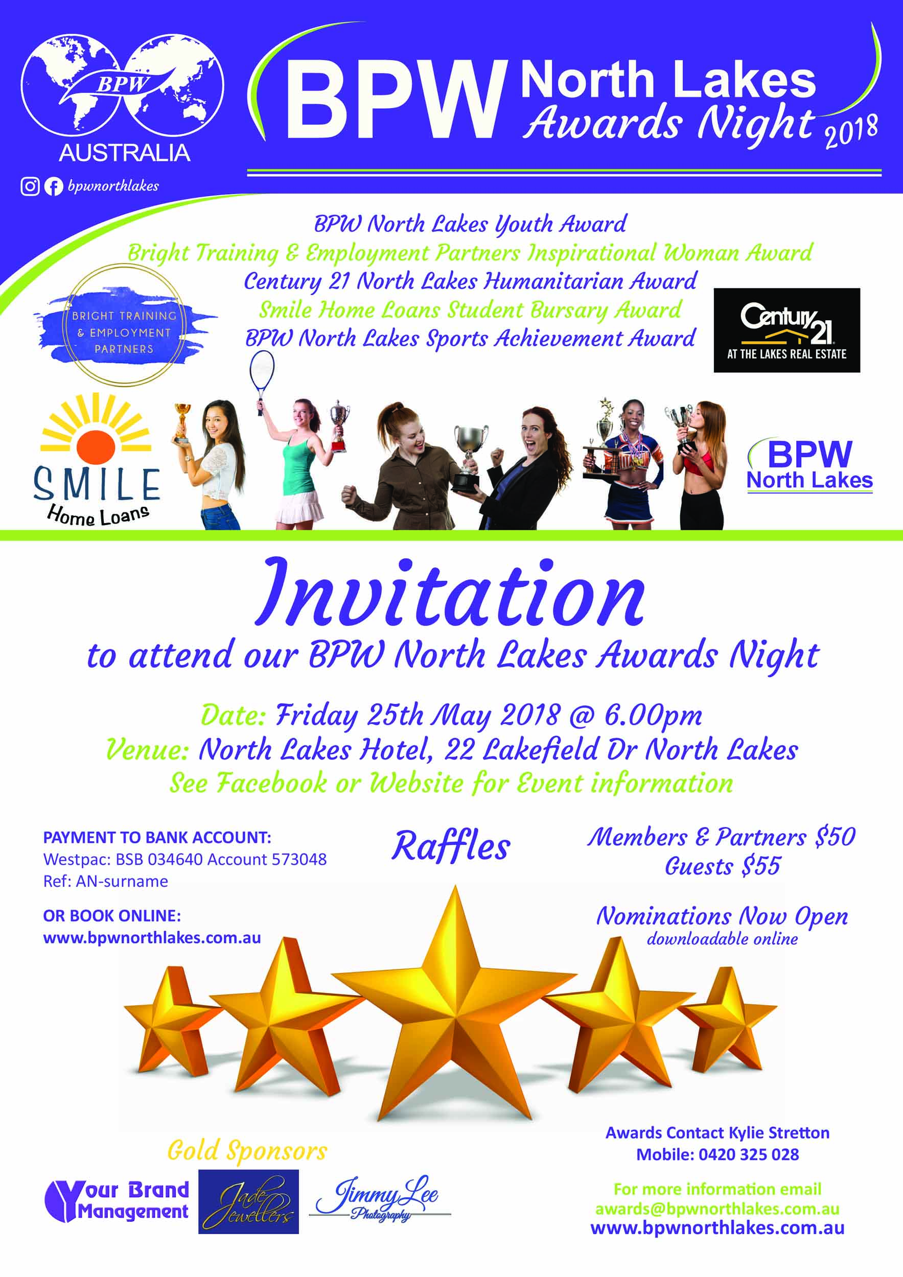 BPW North Lakes Awards Night small