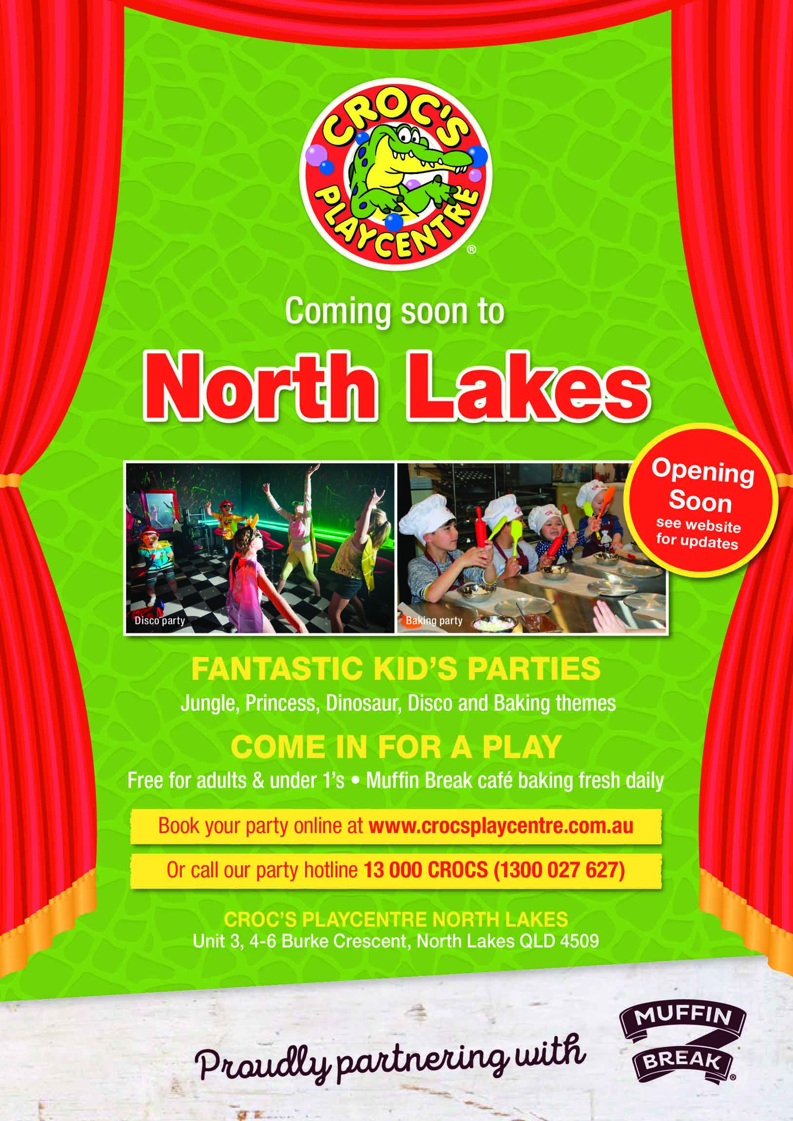 Crocs Playcentre Opening A5 flyer-North-NC-page-0 small