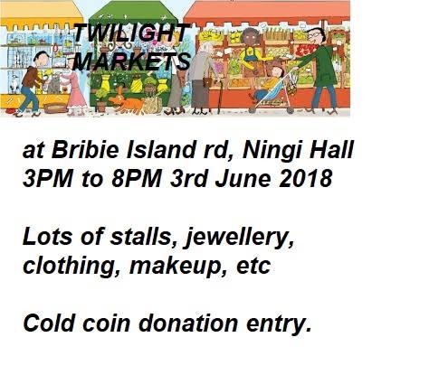 Ningi Hall Twilight Markets June 3