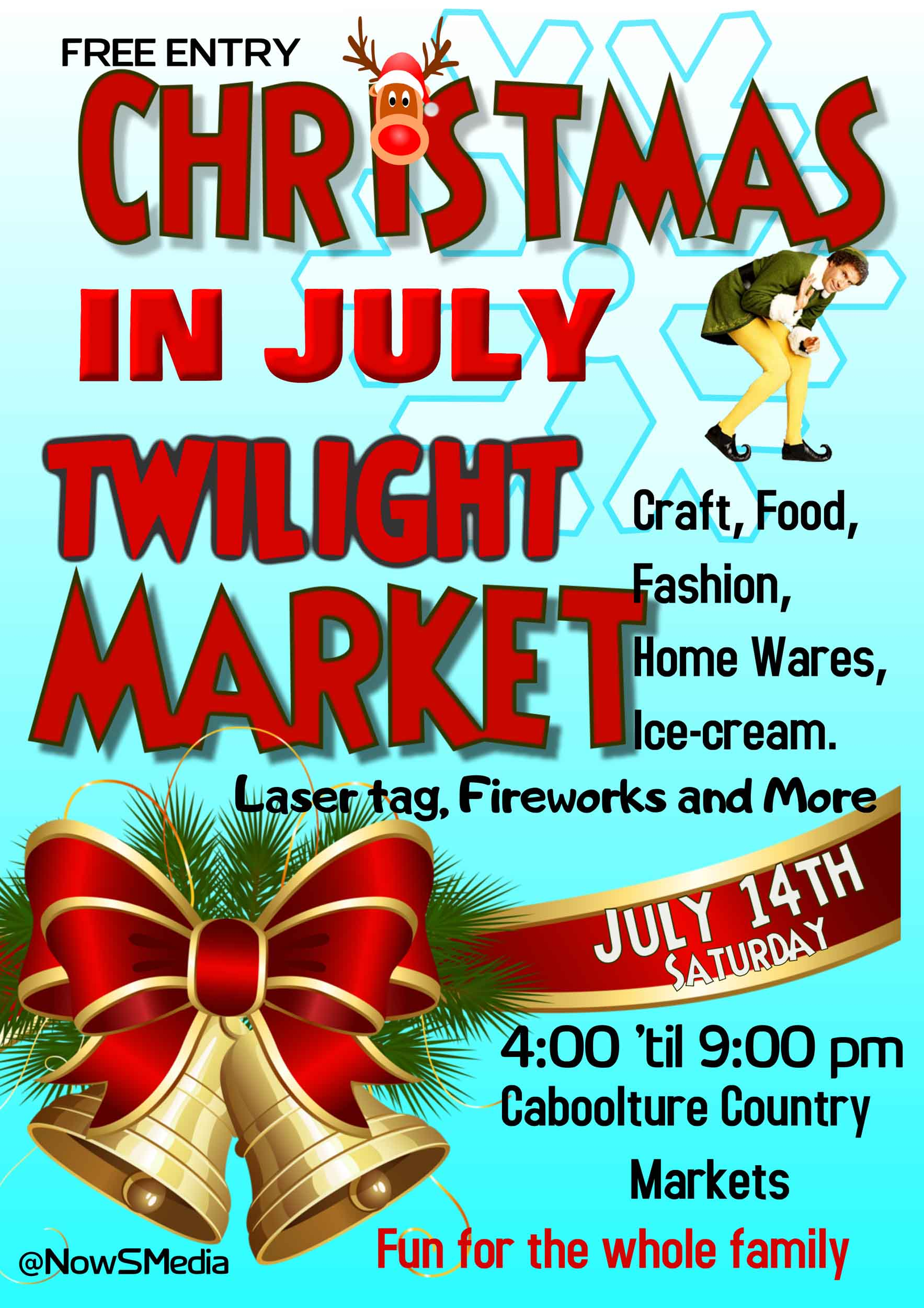 Christmas in july Market 2018