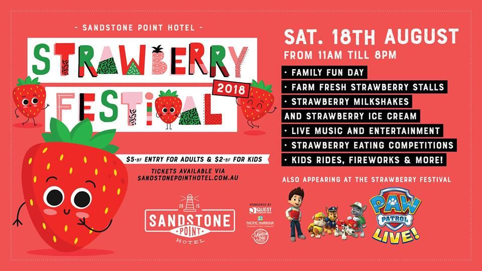 Sandstone Point Strawberry Fair August 18