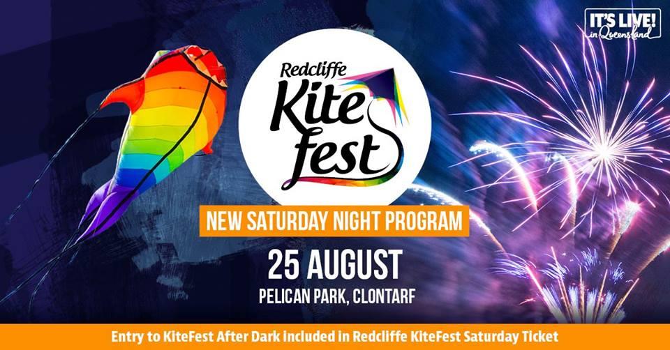 Redcliffe Kite Fest after Dark August 25