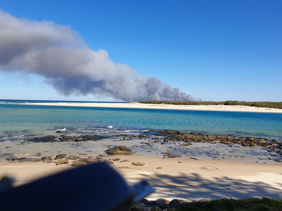 QFES Bushfire Warning Northern Part of Bribie Island | 1015FM